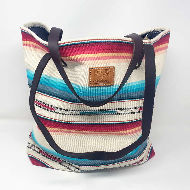 Bright Desert Stripe Feed Bag