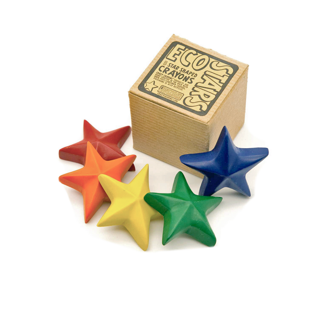 Eco Stars Crayon Set - Good Spark