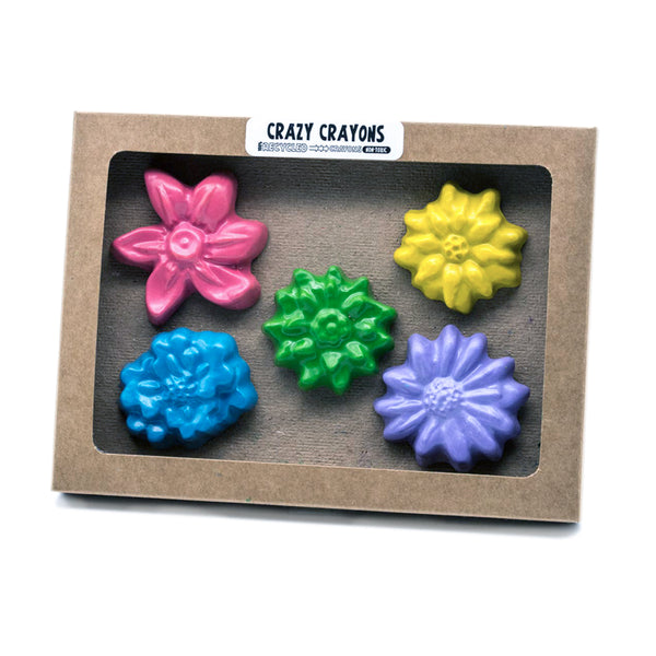 Flower Crayon Set - Good Spark