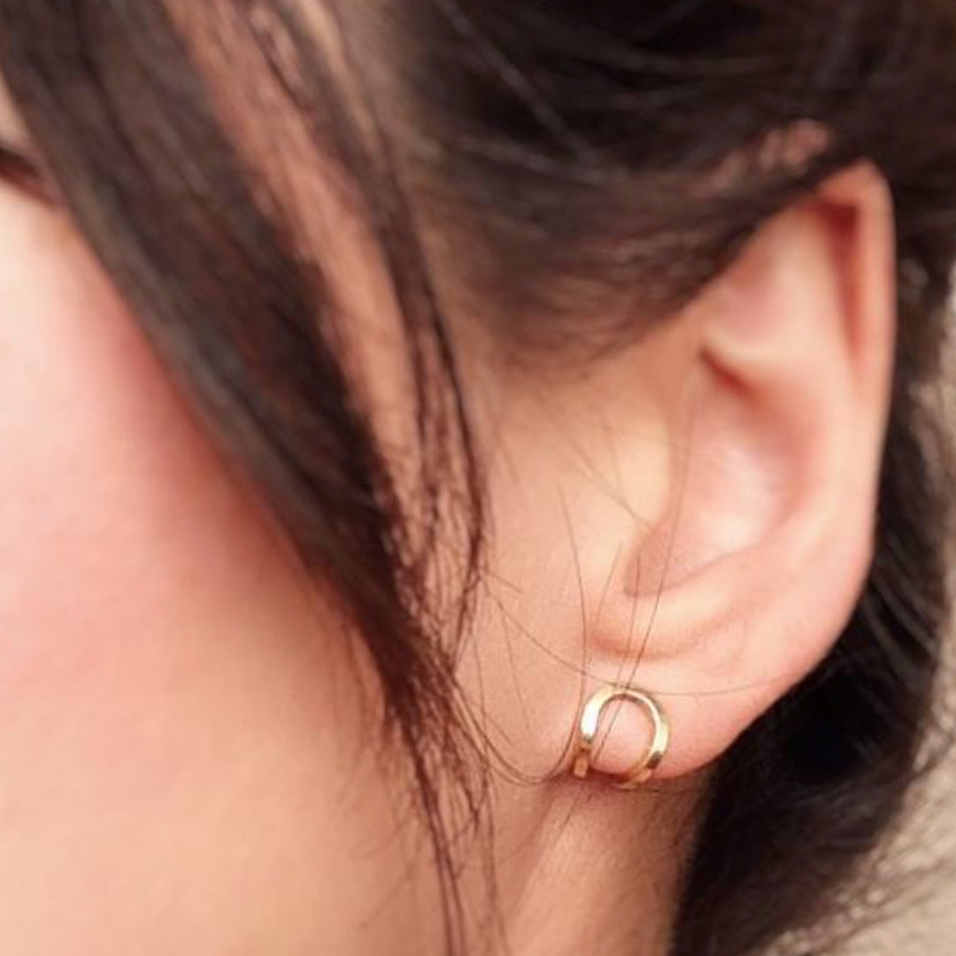 Lucky Lobe Cradle Earrings - Good Spark