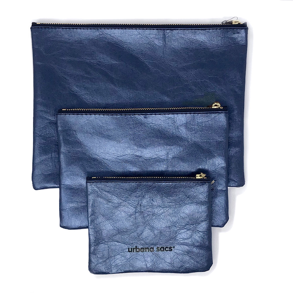 Zipper Sac, Midnight Blue - Good Spark