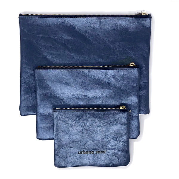 Zipper Sac, Midnight Blue