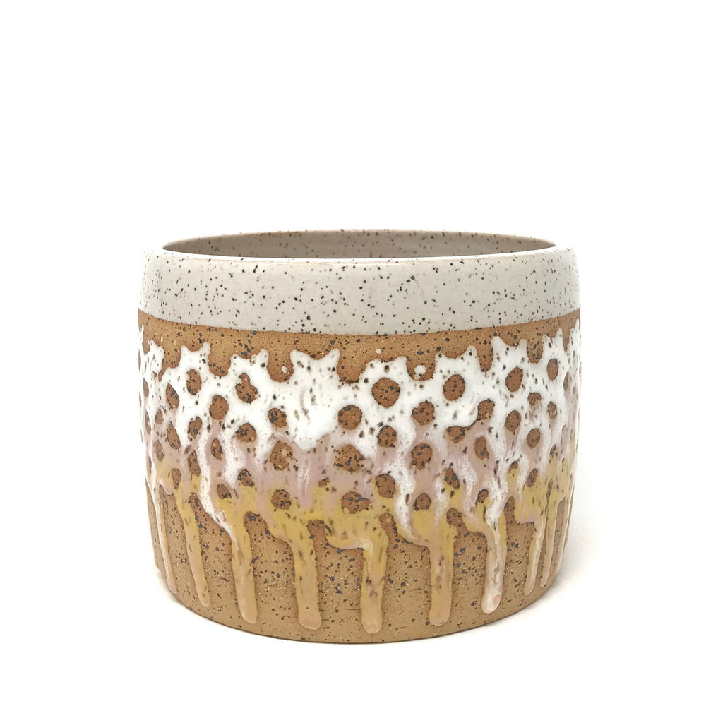 White Decorative Planter - Good Spark