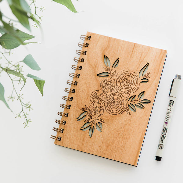Ranunculus Wood Journal - Good Spark