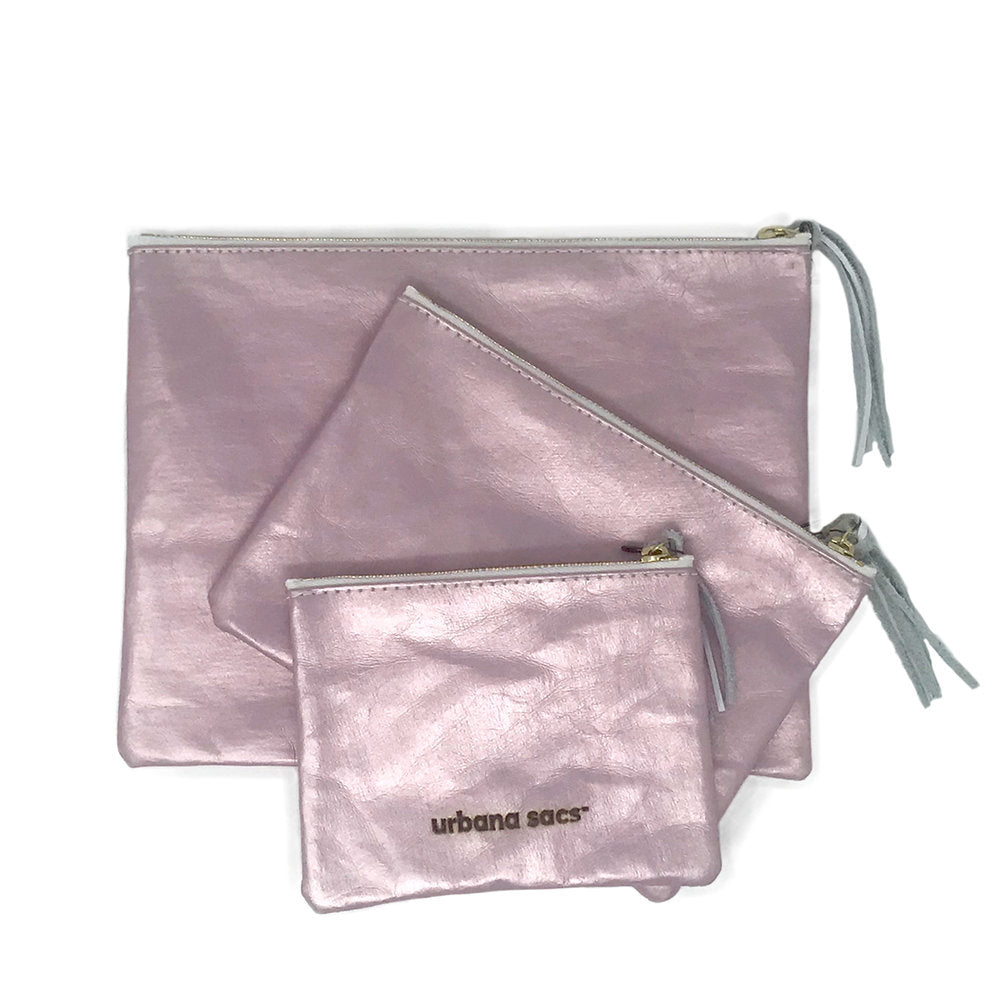 Zipper Sac, Rose Gold - Good Spark