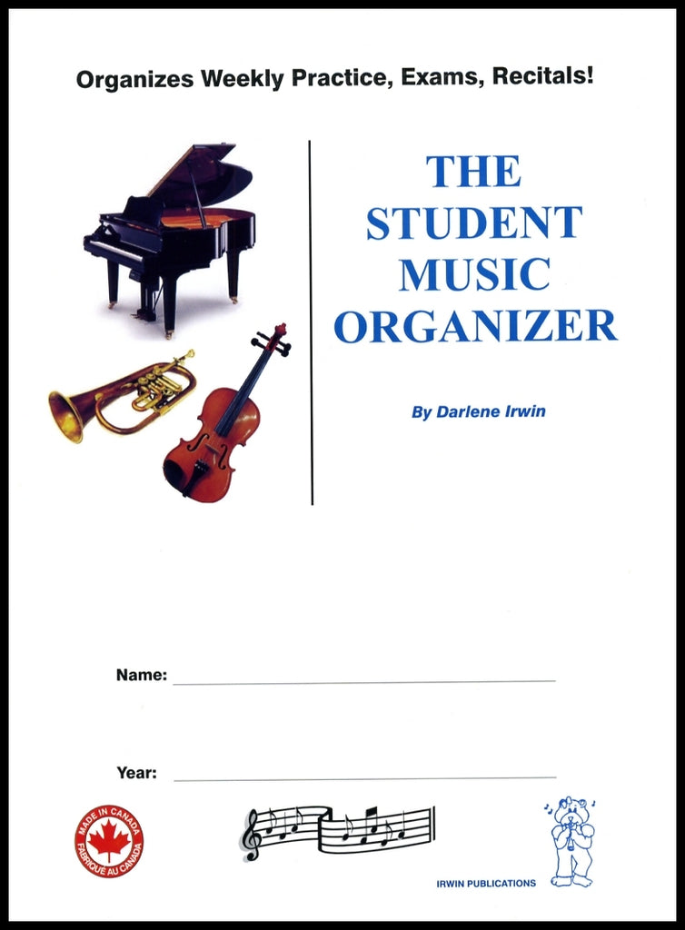 The Student Music Organizer - The Complete Dictation Book