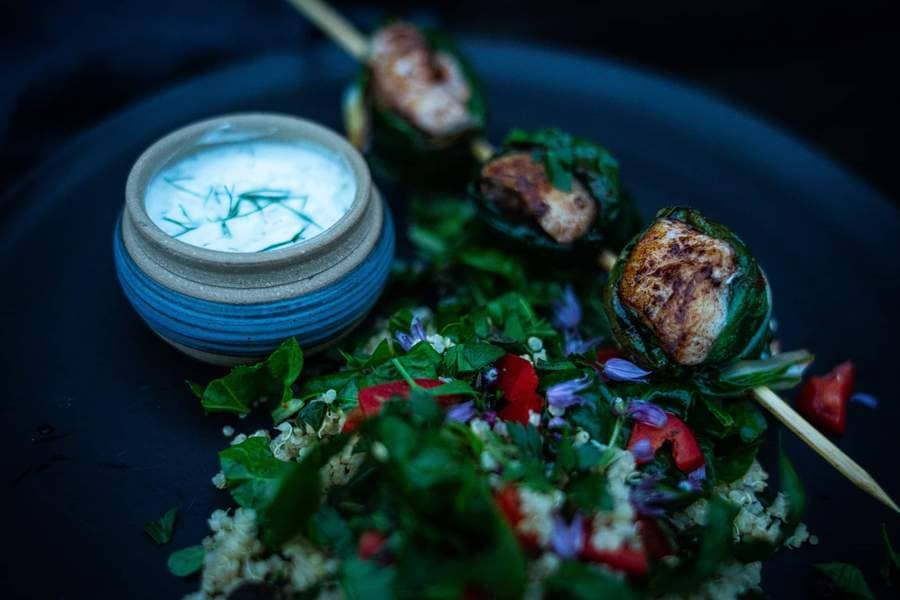 Catch Sitka Seafoods Grilled Rockfish Kebabs