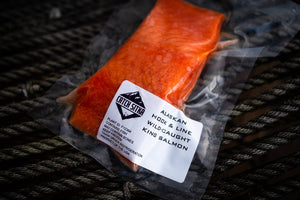 Load image into Gallery viewer, Catch Sitka Alaskan hook & line wild-caught king salmon.