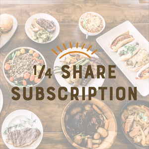 Quarter Share Subscription Box
