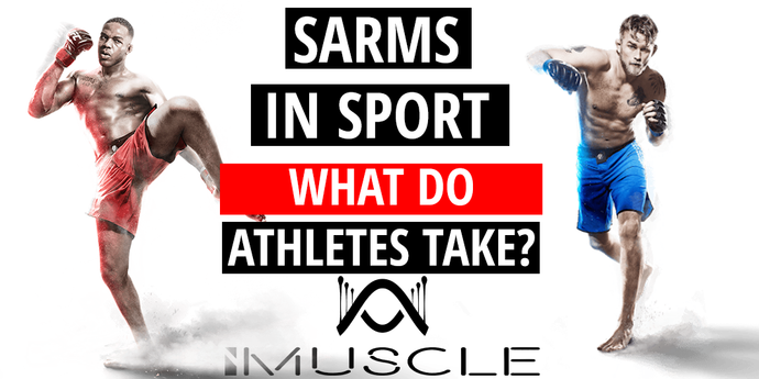 Professional athletes doing  SARMs cycle