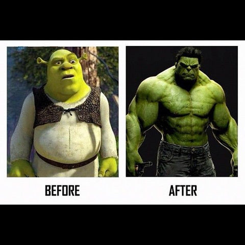 shrek vs hulk - sarms uk