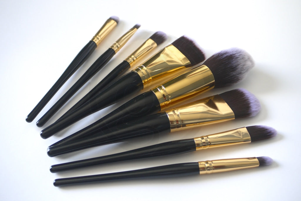 Makeup Brush Set - Galaxy Black Brushes