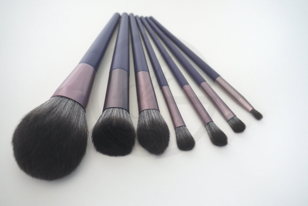 Makeup Brush Set - Purple Passion Brushes
