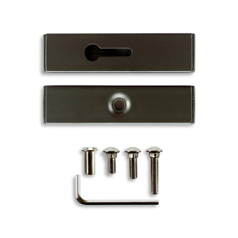 "32"" Bird Feeder Hook & 6"" Mounting Rail Kit - Hold It Mate"