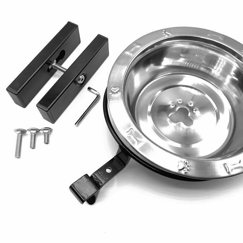 Adjustable Height Dog Bowl Kits - Hold It Mate