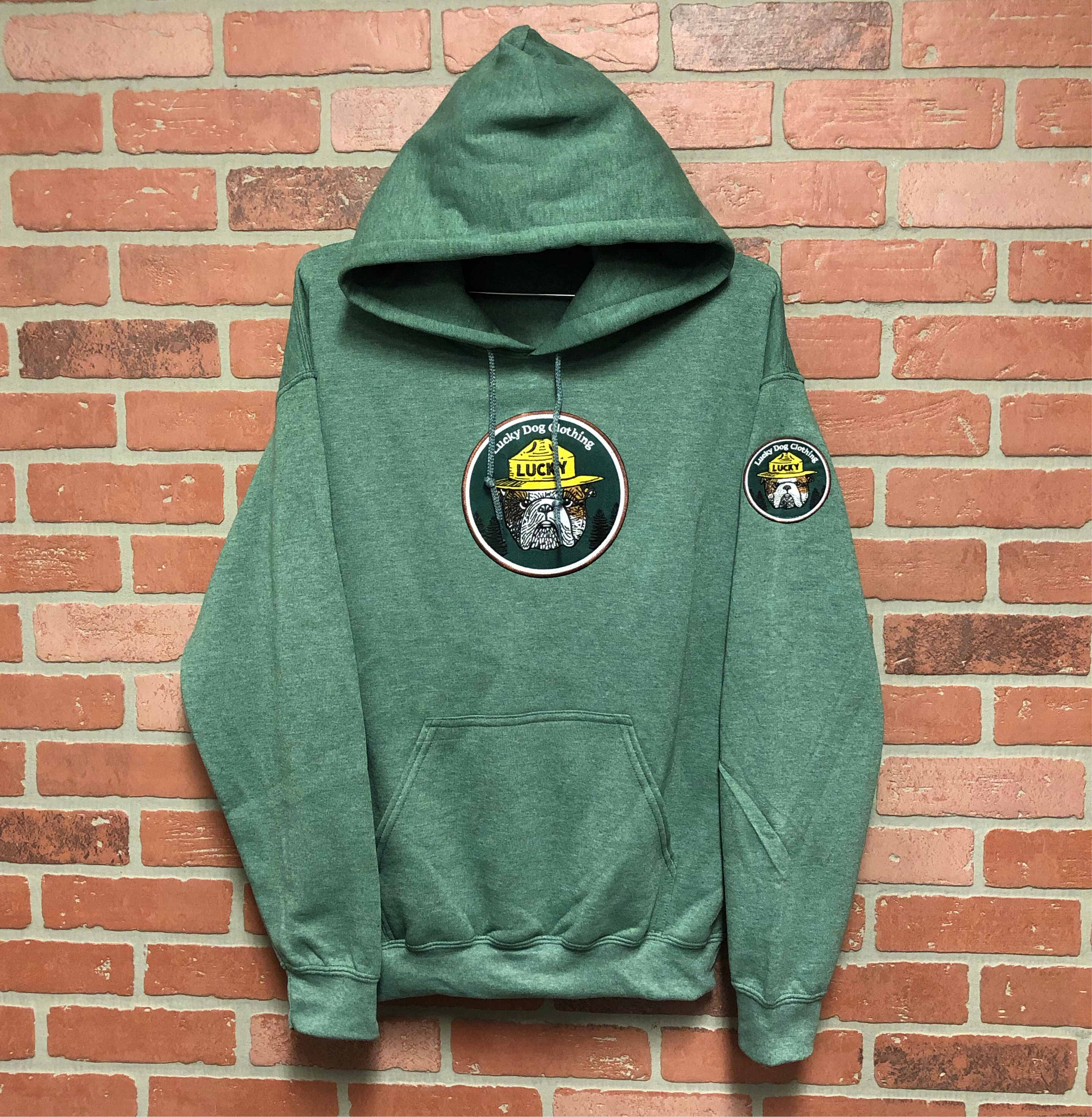 Forest Service Hoodie Olive