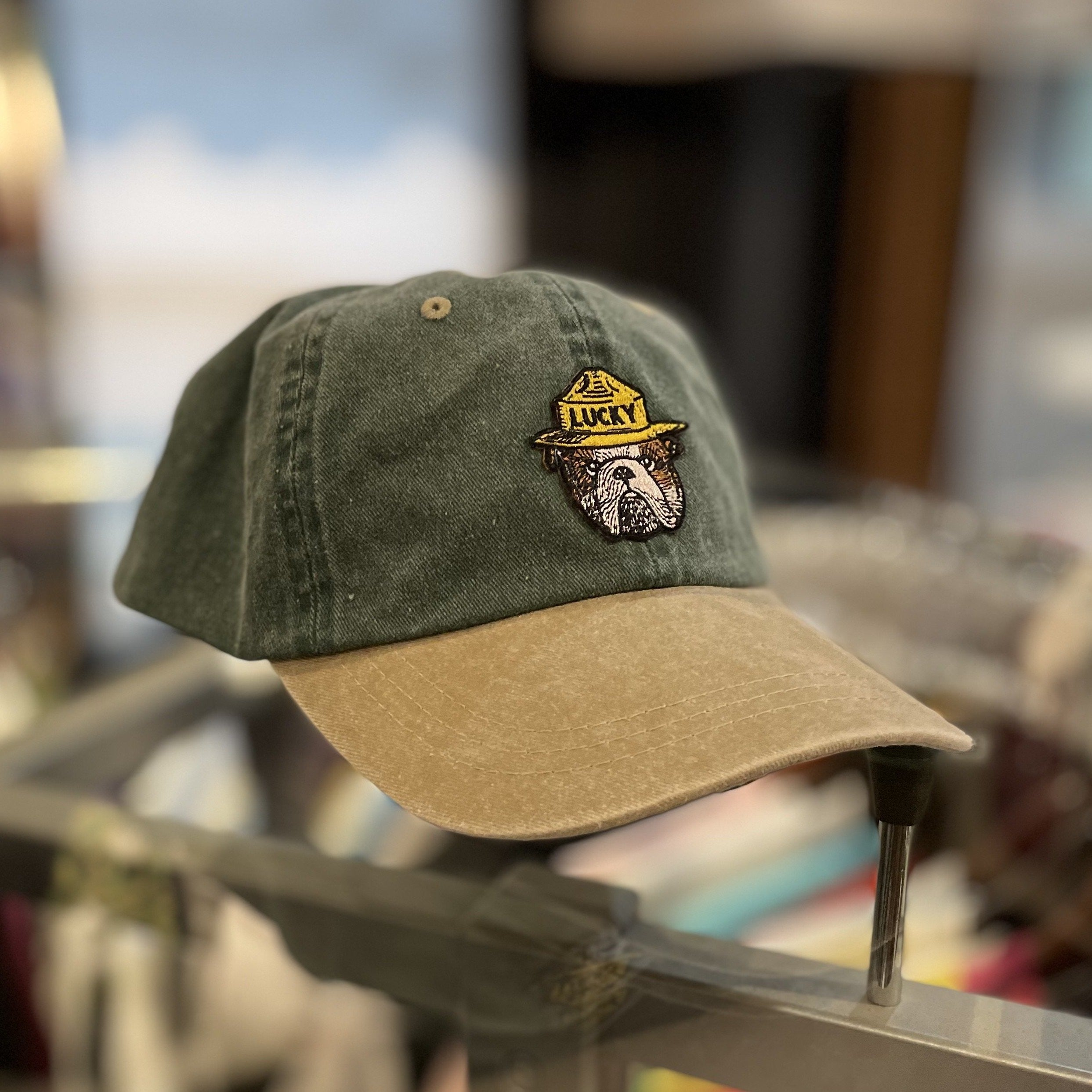Forest Service Hat Two Tone Olive/Khaki