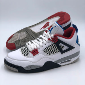 Retro 4 'What The 4s' Size 10.5