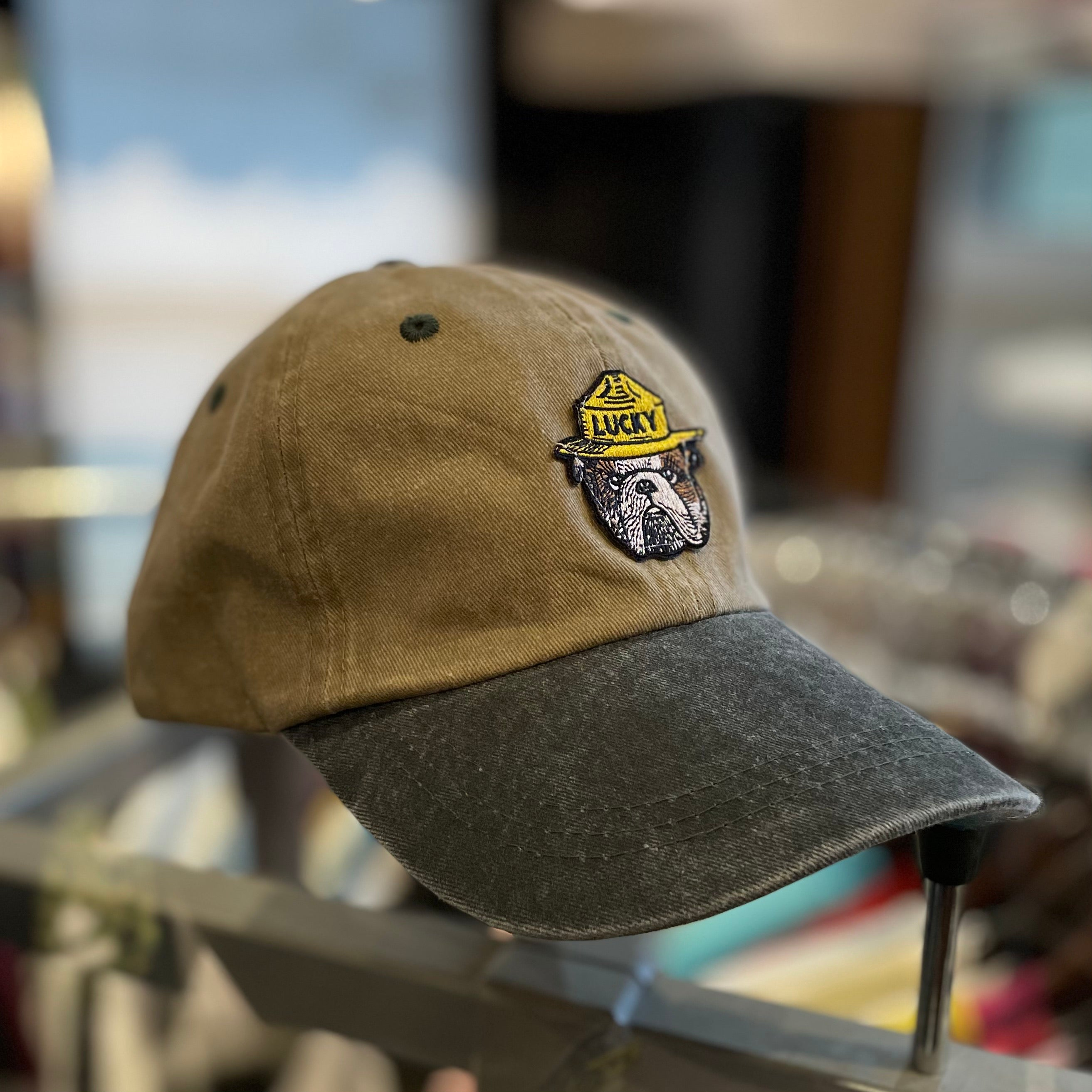 Forest Service Hat Two Tone Khaki/Olive
