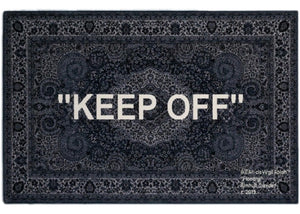 """Keep Off"" Rug 300x200cm"