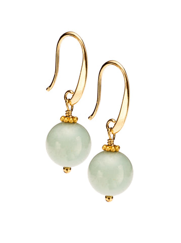 Amazonite French Wire Earring