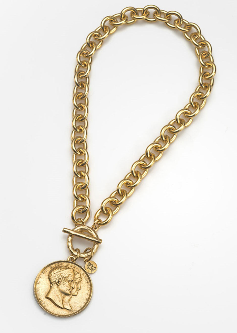 Napoleon Medallion Necklace