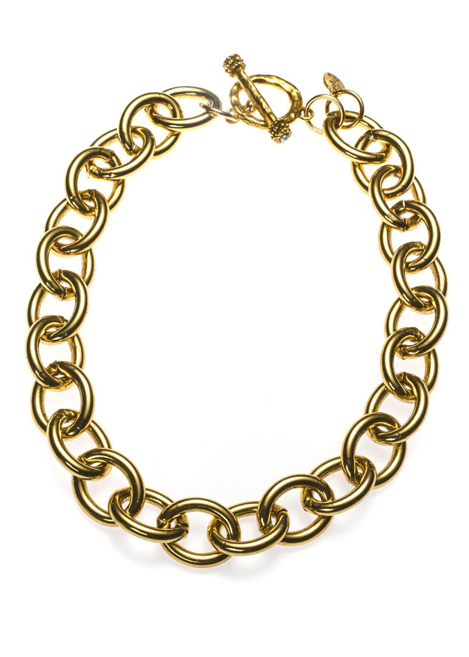 Bold Chain Link Necklace