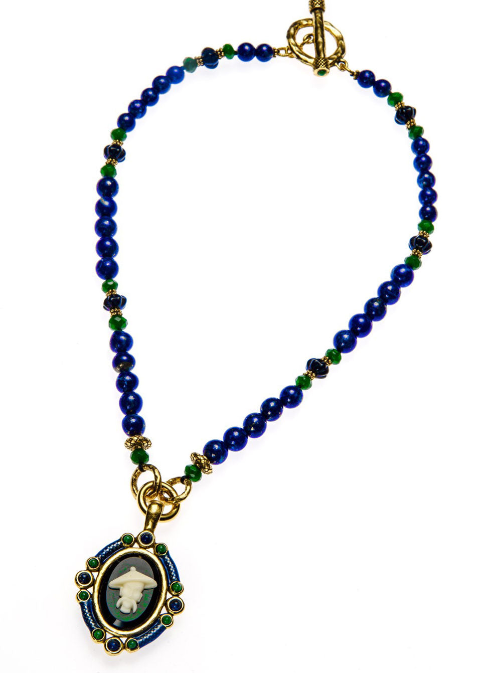 Silk Road Lapis Necklace