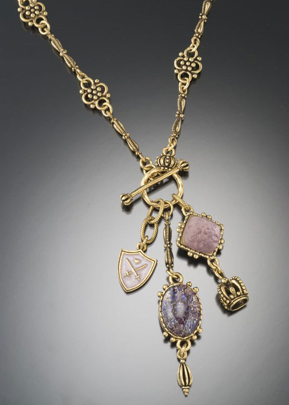 Amethyst Multi-Stone Necklace