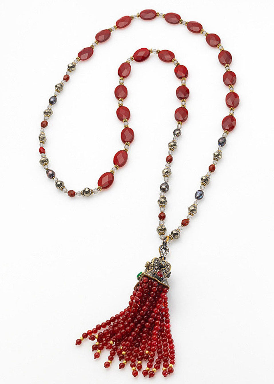Silk Road Tassel Necklace