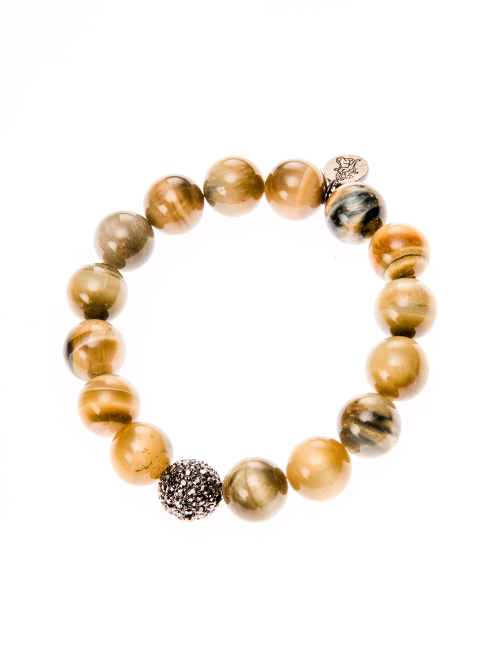 Tigers Eye Slip on Bracelet