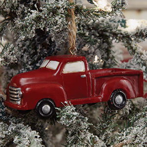 Little Red Truck Ornament