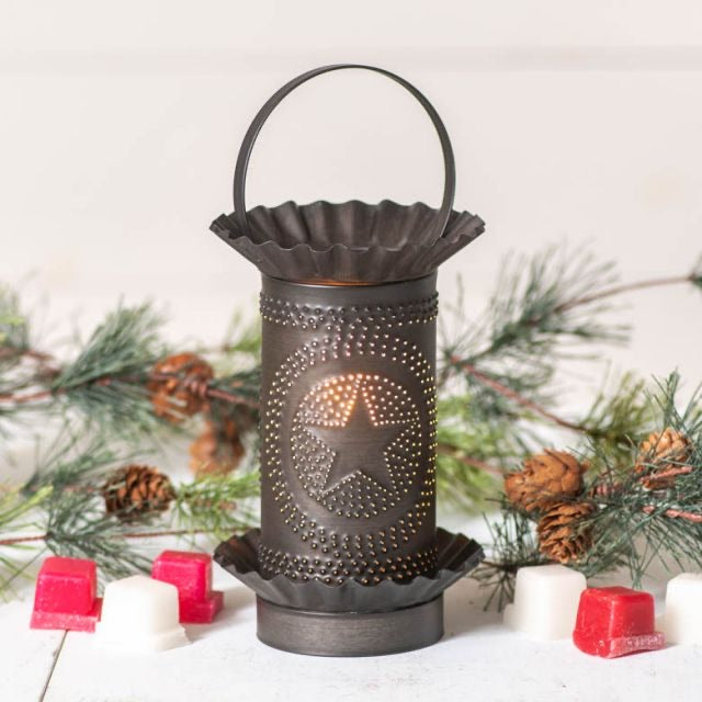 Mini Wax Warmer with Regular Star in Kettle Black