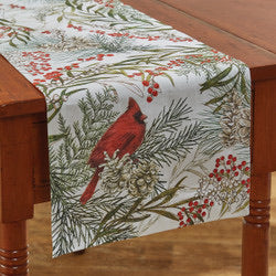 CARDINAL TABLE RUNNER- 2 sizes