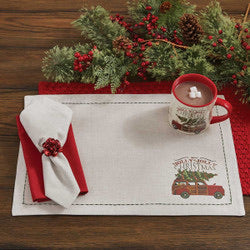 OVER THE RIVER PLACEMAT- 2 styles