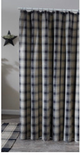 SOAPSTONE SHOWER CURTAIN
