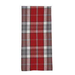 SKETCHBOOK SNOWMAN PLAID DISHTOWEL