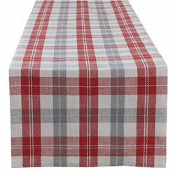 ALPINE PLAID TABLE RUNNER