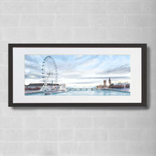 Load image into Gallery viewer, London Eye Watercolour