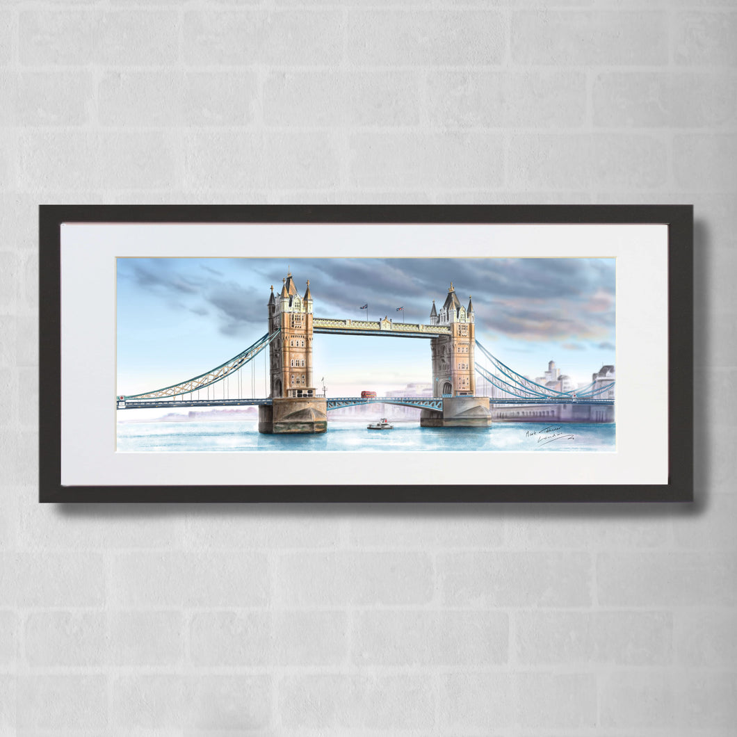 Tower Bridge Watercolour