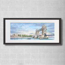 Load image into Gallery viewer, Tower Bridge & Tower of London Watercolour