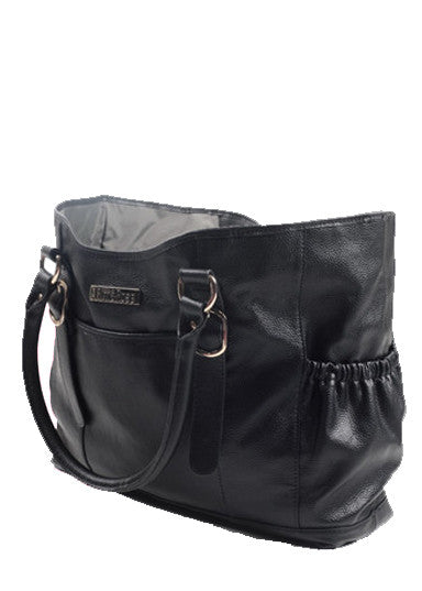 Claire Diaper Bag in Black