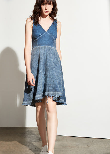 Lucille Dress in Sea Blue