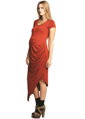 Asymetrical Drape Dress