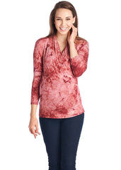 Surplice Maternity / Nursing Top