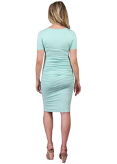 Maternity Dresses - Body Con Dress in Mint