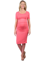Body Con Dress in Coral