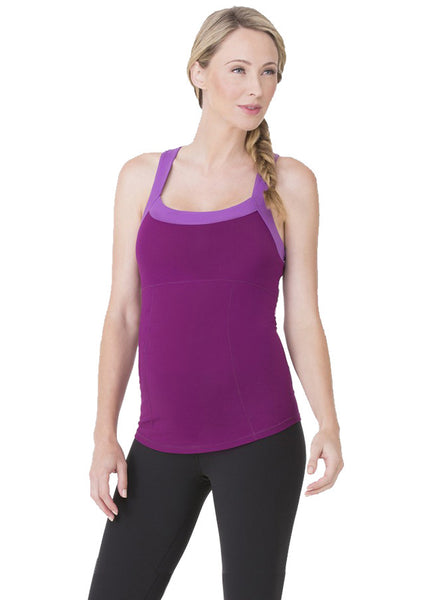 Racerback Active Tank in Orchid