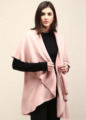 Shawl Vest in Blush - modish MATERNITY
