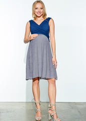 Overlap Babydoll Dress